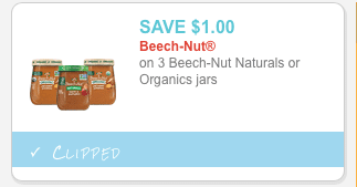 beech nut organic coupon