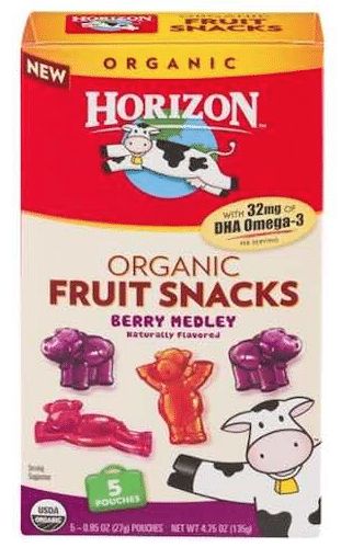 horizon fruit snack coupon
