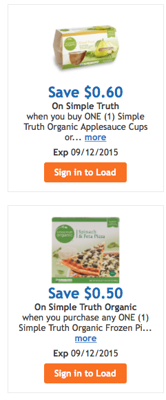 more simple truth organic coupons