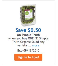 new simple truth organic coupons