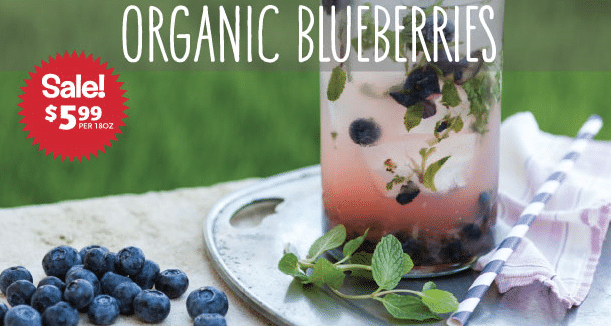 organic blueberry sale whole foods