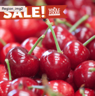 whole foods cherry sale