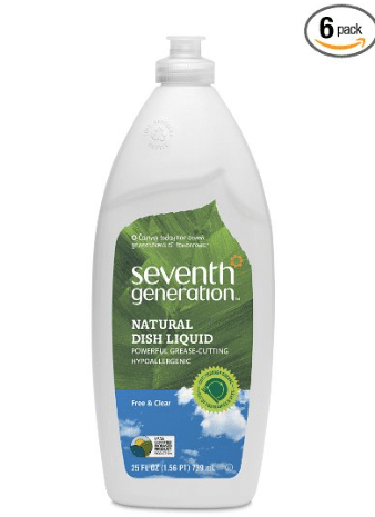 amazon seventh generation dish soap