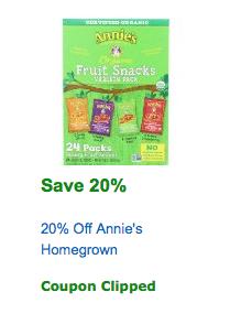 annies amazon coupon