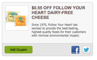 follow your heart cheese coupon
