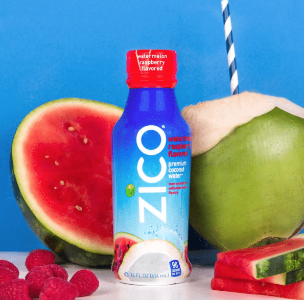 free zico coconut water