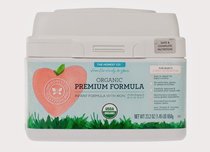 honest company free organic formula trial