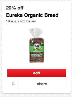 organic bread target