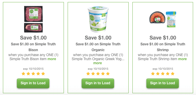 organic simple truth kroger coupons