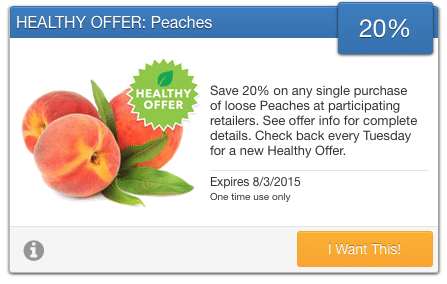 savingstar organic coupons