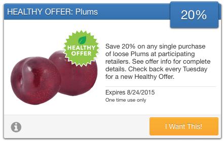 savingstar plums
