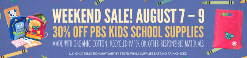 whole foods back to school sale