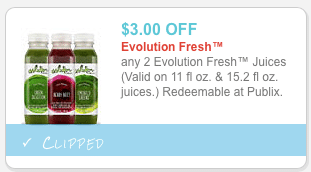 $3 evolution fresh coupon