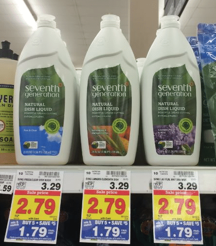 7th gen dish soap kroger