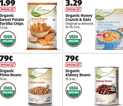 aldi organic deals