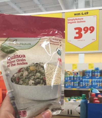 aldi organic quinoa