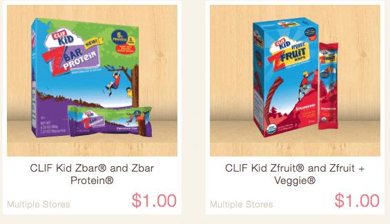 Rare Clif Kid Coupon Plus Ibotta App Offers- $1 09 Clif