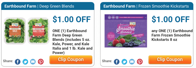 organic produce coupons