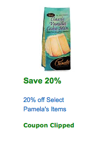 pamelas coupon amazon