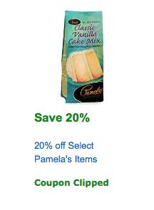 pamelas coupon amazon