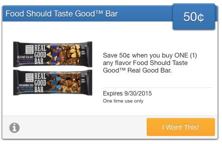 real good bar coupon