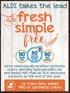 aldi fresh simple free