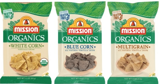 mission organic tortilla chips coupn