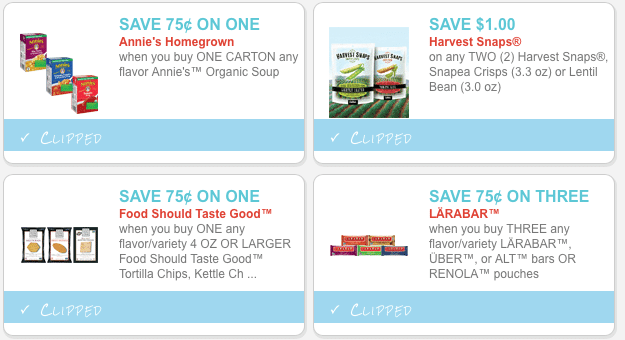 new coupons.com organic coupons