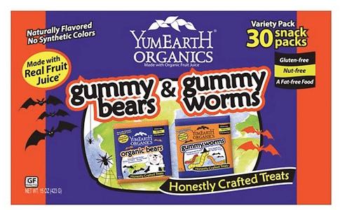 organic halloween candy roundup
