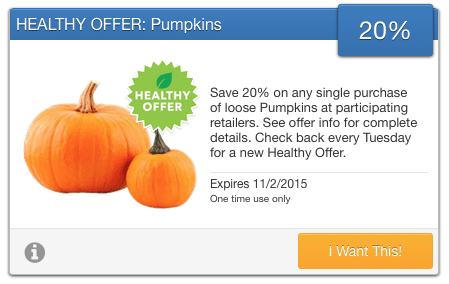 savingstar pumpkins