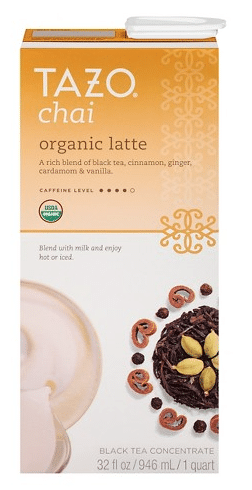 tazo organic chai coupon