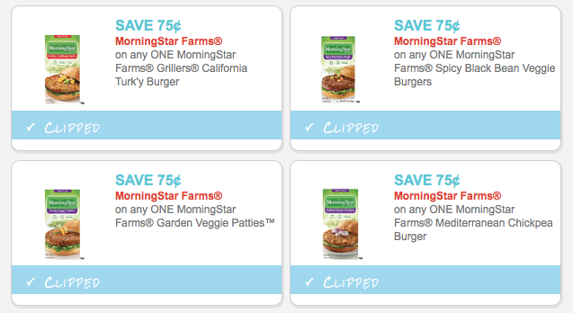 ten new morningstar farms coupons