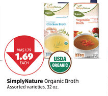 aldi organic broth