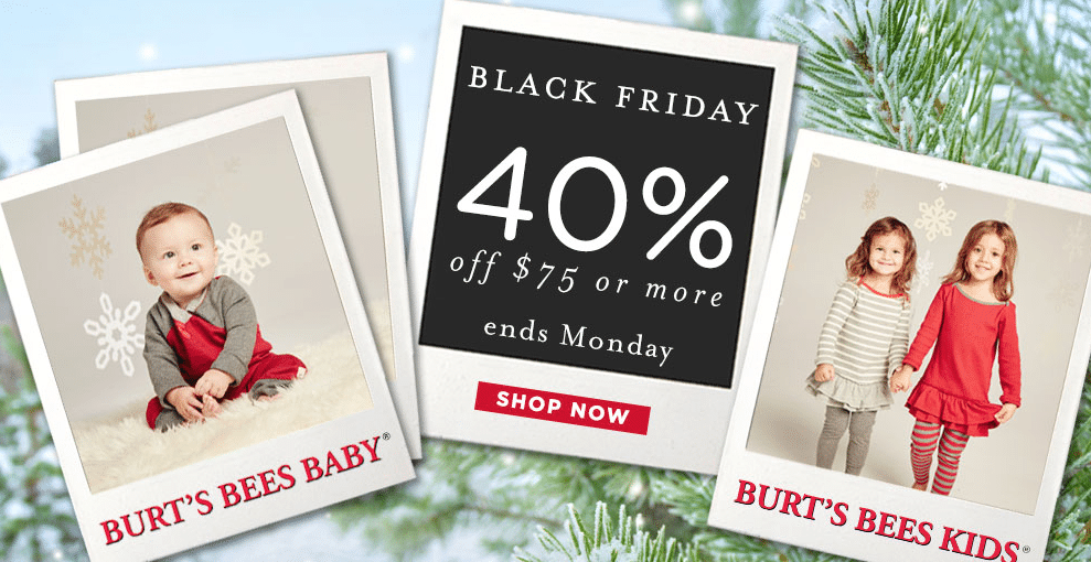 burt's bees black friday