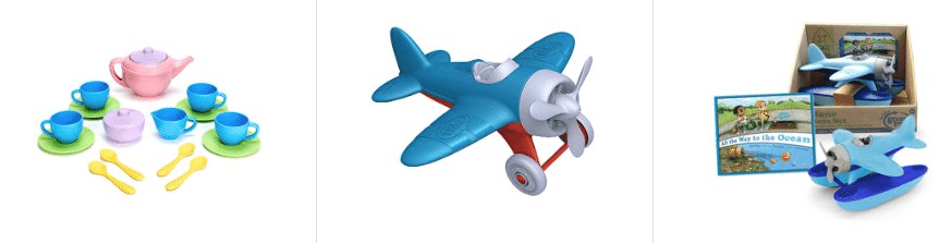 green toys lightning deals