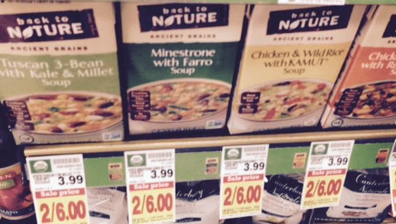 kroger back to nature