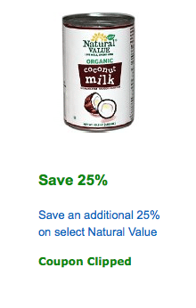 natural value coupon
