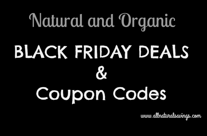 organic black friday deals