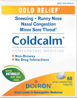 Walgreens: Coldcalm 60 ct  FREE after Coupon and Cash Back
