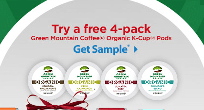 free green mountain organic coffee