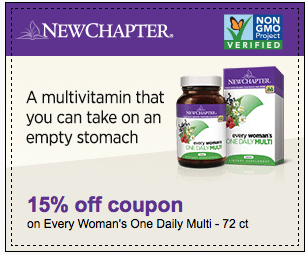 new chapter coupon