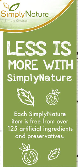 new simply nature organic aldi products