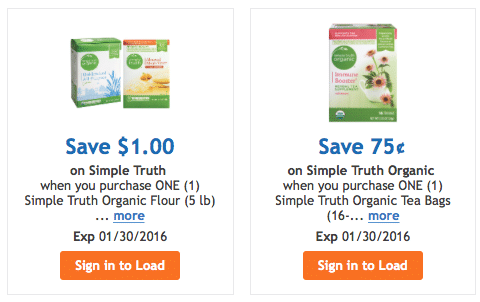 organic digital coupons kroger