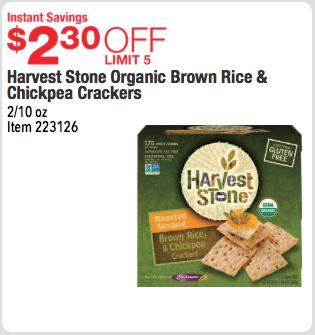 organic gluten free crackers costco