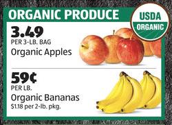 organic produce aldi