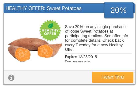 savingstar sweet potatoes