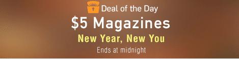 $5 magazines amazon