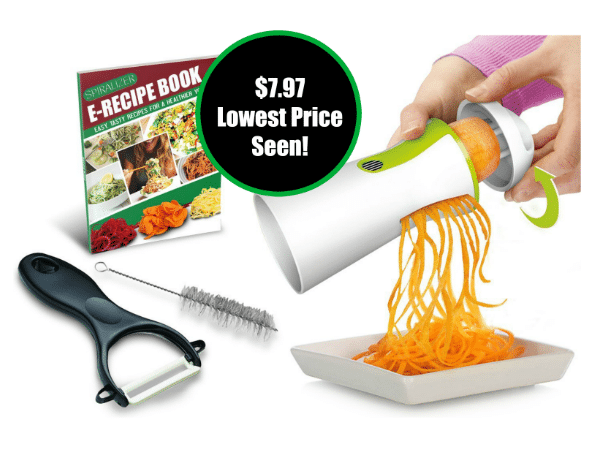 amazon veggie spiralizer deal