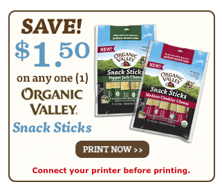 organic valley organic cheese coupon