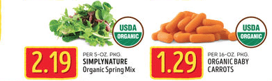 aldi organic produce deals